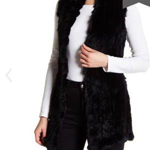 Love Token Real Rabbit Fur Vest